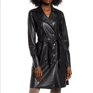 Blank nyc black trench! Great quality!